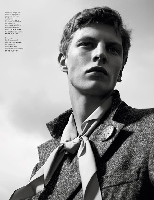 VOGUE HOMMES MAGAZINE Collections by Willy Vanderperre. Olivier Rizzo, Spring 2015, www.imageamplified.com, Image Amplified (11)