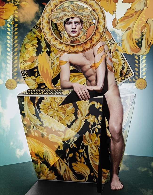 PHILISTINE MAGAZINE Versace Home Collection by Damien Blottiere. Spring 2015, www.imageamplified.com, Image Amplified (4)