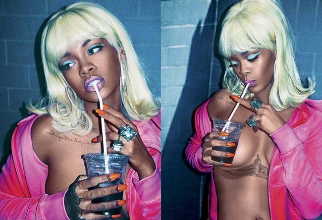 V MAGAZINE Rihanna by Steven Klein. Carlyne Cerf de Dudzeele, Summer 2015, www.imageamplified.com, Image Amplified (3)