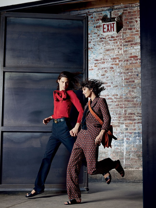 VOGUE MAGAZINE Blurred Lines by Patrick Demarchelier. Tonne Goodman, May 2015, www.imageamplified.com, Image Amplified (3)