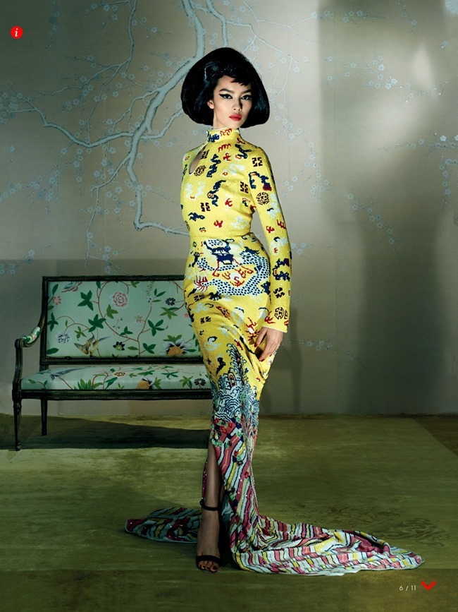 VOGUE MAGAZINE Fei Fei Sun by Steven Meisel. Grace Coddington, May 2015, www.imageamplified.com, Image Amplified (3)