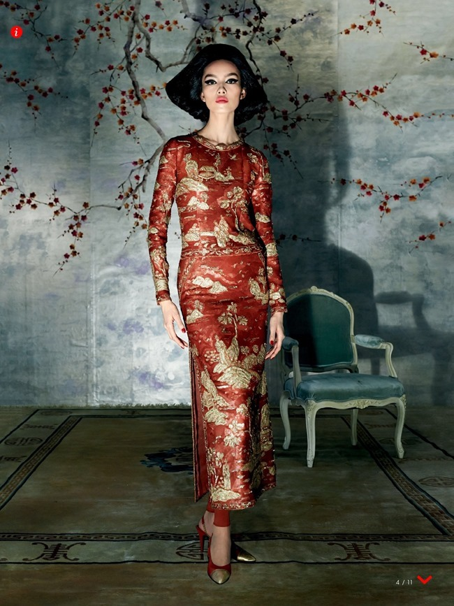 VOGUE MAGAZINE Fei Fei Sun by Steven Meisel. Grace Coddington, May 2015, www.imageamplified.com, Image Amplified (5)