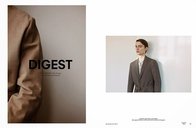 ANOTHER MAN Rhys Pickering & Rory Cooper by Max Farago. Robbie Spencer, Spring 2015, www.imageamplified.com, Image Amplified (2)