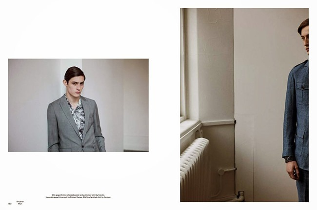 ANOTHER MAN Rhys Pickering & Rory Cooper by Max Farago. Robbie Spencer, Spring 2015, www.imageamplified.com, Image Amplified (11)