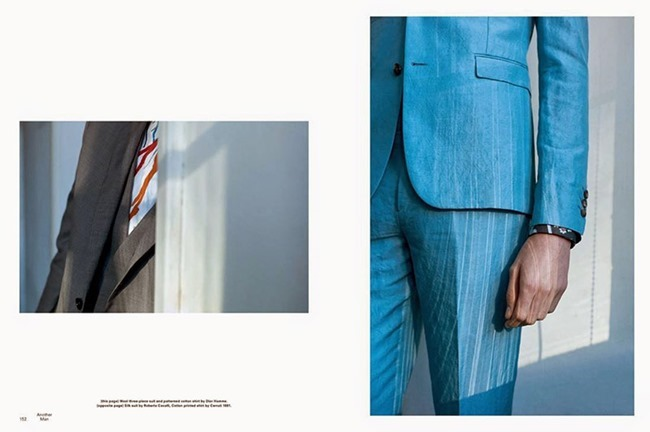 ANOTHER MAN Rhys Pickering & Rory Cooper by Max Farago. Robbie Spencer, Spring 2015, www.imageamplified.com, Image Amplified (12)