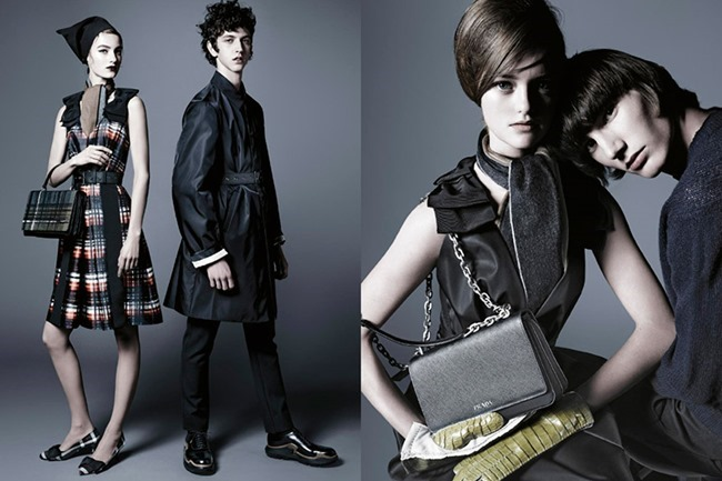 CAMPAIGN Prada Pre-Fall 2015 by Steven Meisel. www.imageamplified.com, Image Amplified (2)