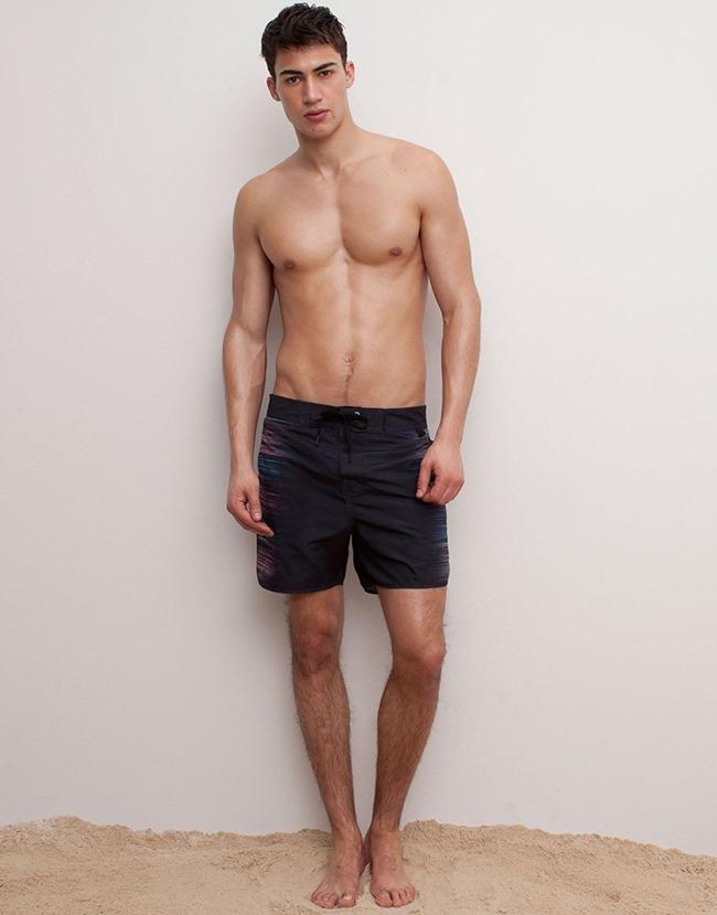 LOOKBOOK Alessio Pozzi for Pull & Bear Spring 2015 Beachwear. www.imageamplified.com, Image Amplified (4)