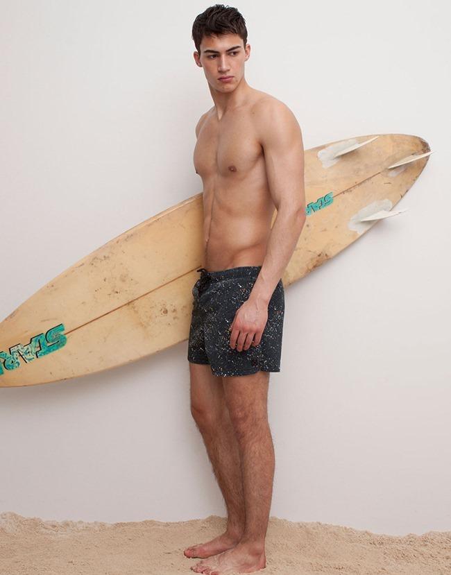 LOOKBOOK Alessio Pozzi for Pull & Bear Spring 2015 Beachwear. www.imageamplified.com, Image Amplified (5)