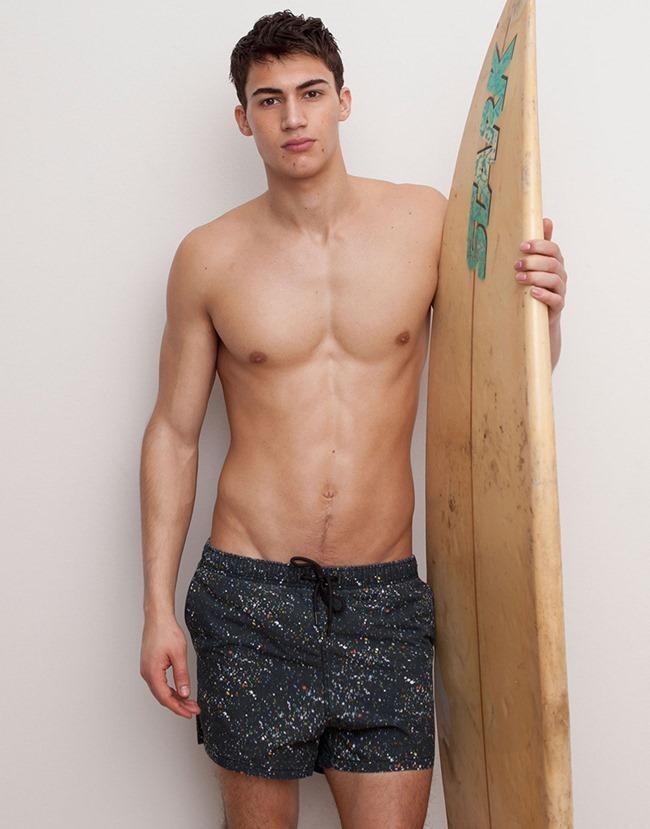 LOOKBOOK Alessio Pozzi for Pull & Bear Spring 2015 Beachwear. www.imageamplified.com, Image Amplified (6)