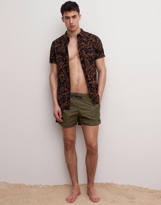 LOOKBOOK Alessio Pozzi for Pull & Bear Spring 2015 Beachwear. www.imageamplified.com, Image Amplified (13)