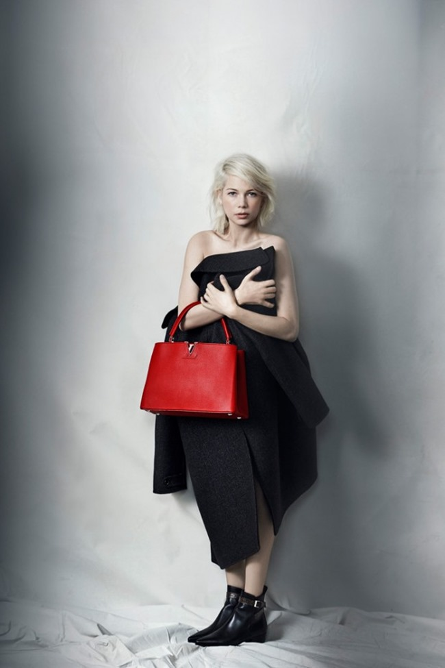 CAMPAIGN Michelle Williams for Louis Vuitton by Peter Lindbergh. Spring 2015, www.imageamplified.com, Image Amplified (6)
