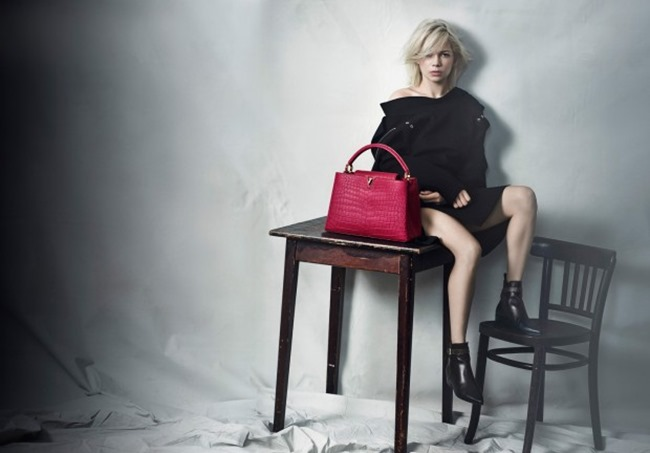 CAMPAIGN Michelle Williams for Louis Vuitton by Peter Lindbergh. Spring 2015, www.imageamplified.com, Image Amplified (7)