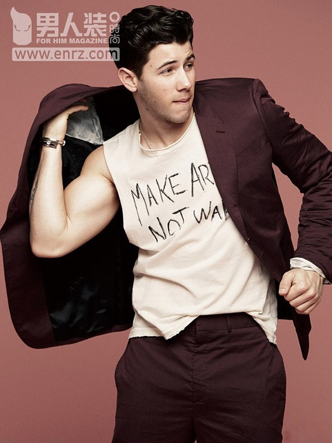 FEATURED MODEL Nick Jonas for FHM China, Spring 2015, www.imageamplified.com, Image Amplified (5)