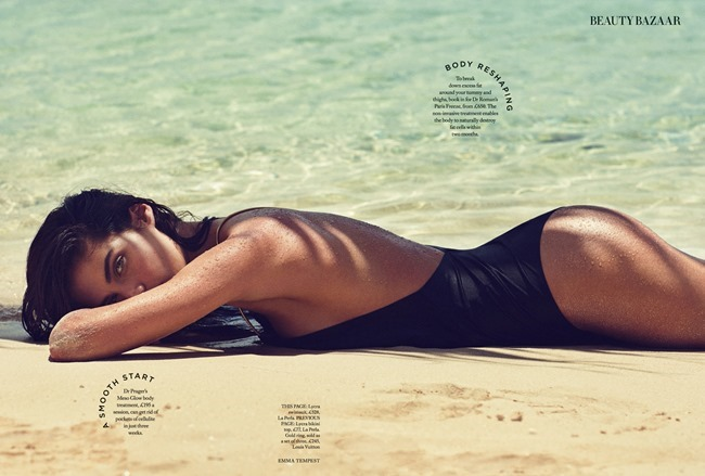 HARPER'S BAZAAR UK Sara Sampaio by Emma Tempest. Florrie Thomas, June 2015, www.imageamplified.com, Image amplified (4)