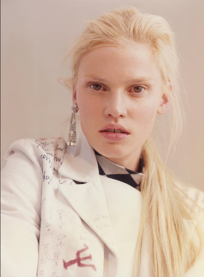 V MAGAZINE Lara Stone by Harley Weir. Max Pearmain, Summer 2015, www.imageamplified.com, Image Amplified (3)