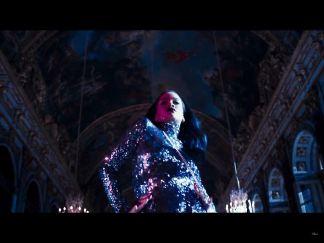 Fashion Video: Dior, Secret Garden IV featuring Rihanna - Versailles, by Steven Klein. Image Amplified www.imageamplified.com