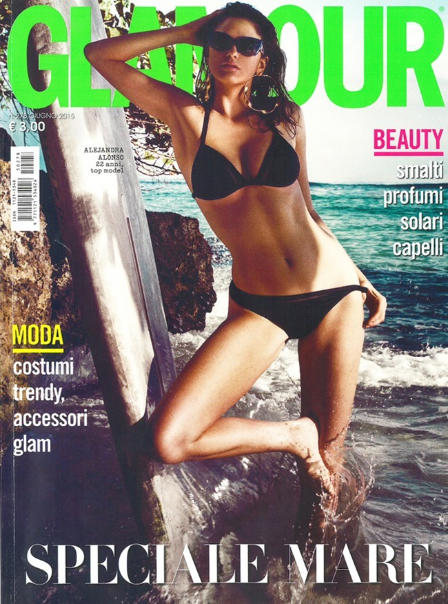 ... GLAMOUR ITALY Alejandra Alonso By Signe Vilstrup. June 2015,  Www.imageamplified.com ...
