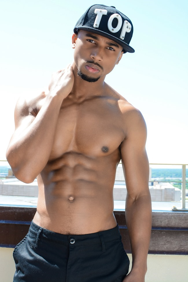 IMAGE AMPLIFIED EXCLUSIVE Ant Barnes in New Huntley Homme Collection 2015 by Calvin Brockington. Summer 2015, www.imageamplified.com, Image Amplified (1)