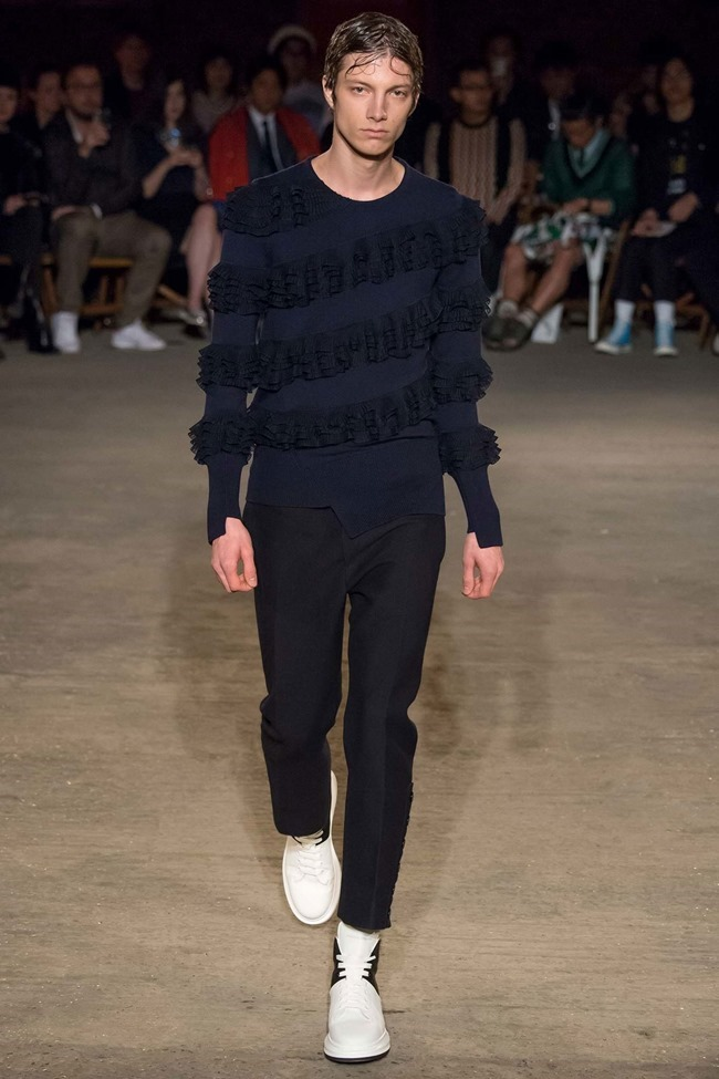LONDON COLLECTIONS MEN Alexander McQueen Spring 2016. LCM, www.imageamplified.com, Image Amplified (10)