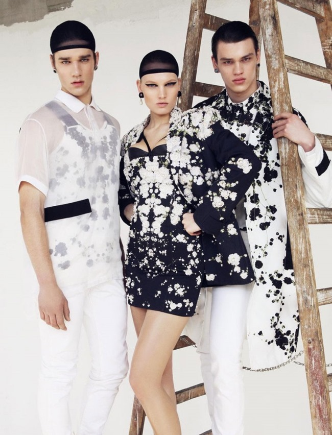 OUT MAGAZINE Givenchy by Lukas Kimlicka. Dominika Svetikova, Summer 2015, www.imageamplified.com, Image Amplified (7)