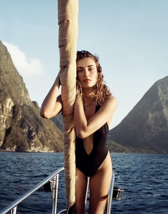 PORTER MAGAZINE Andreea Diaconu by Cass Bird. Kate Young, Summer 2015, www.imageamplified.com, Image Amplified (9)