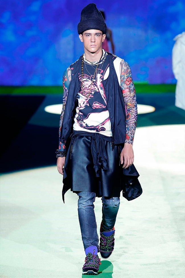 MILAN FASHION WEEK Dsquared2 Spring 2016. www.imageamplified.com, Image Amplified (23)