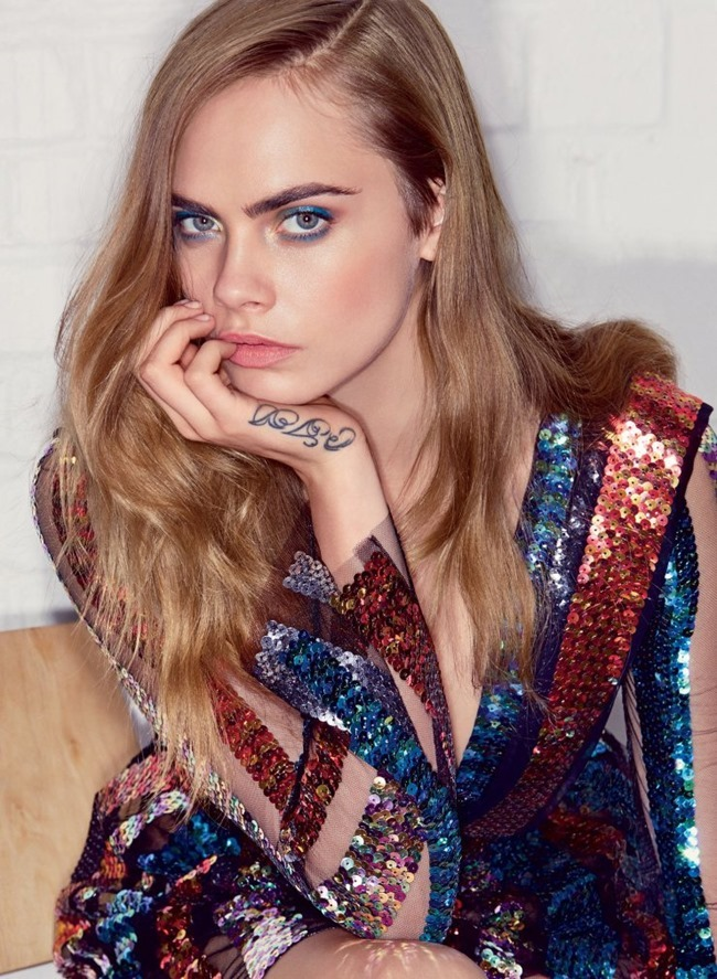 VOGUE MAGAZINE Cara Delevigne by Patrick Demarchelier. Tonne Goodman, July 2015, www.imageamplified.com, Image Amplified (4)