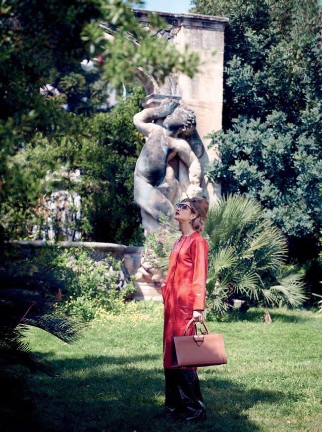 VOGUE MAGAZINE Natalia Vodianova & Adrien Brody by Peter Lindbergh. Grace Coddington, Michael Philouze, July 2015, www.imageamplified.com, Image Amplified (5)