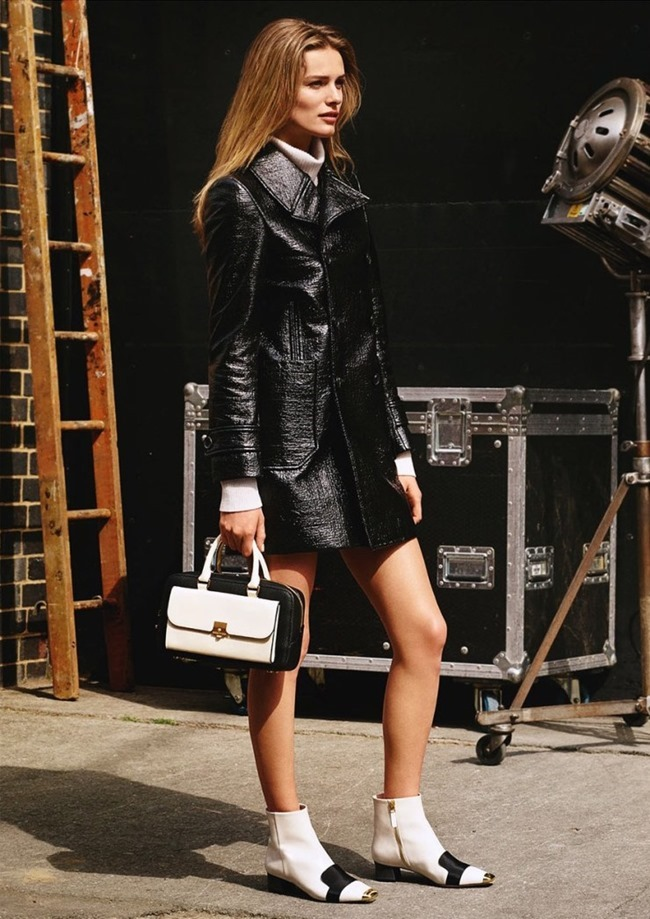 CAMPAIGN Edita Vilkeviciute & Clement Chabernaud for Bally Fall 2015 by Alasdair McLellan. www.imageamplified.com, Image Amplified (4)