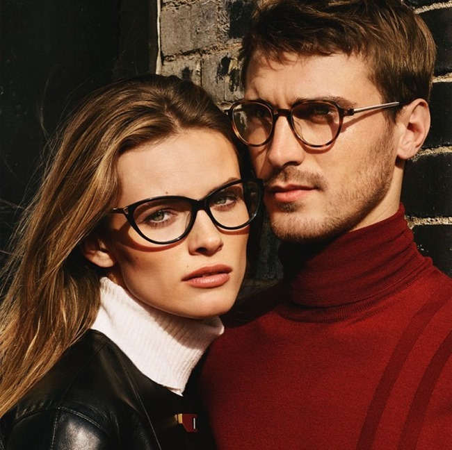 CAMPAIGN Edita Vilkeviciute & Clement Chabernaud for Bally Fall 2015 by Alasdair McLellan. www.imageamplified.com, Image Amplified (12)
