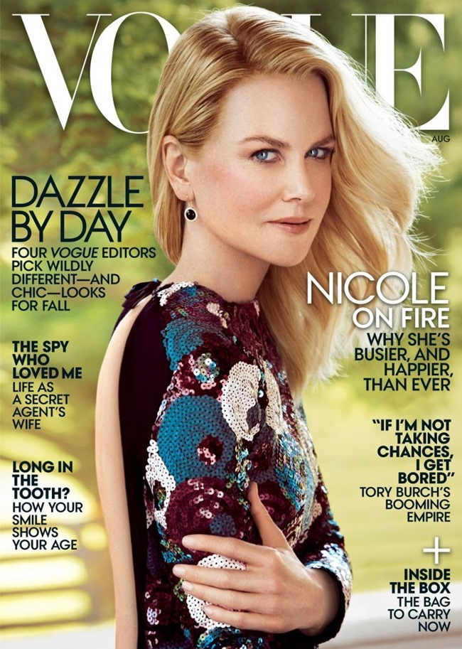 VOGUE MAGAZINE Nicole Kidman by Peter Lindbergh. Phyllis Posnick, August 2015, www.imageamplified.com, Image Amplified (1)