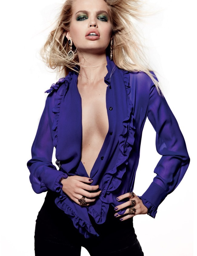 VOGUE RUSSIA Daphne Groenveld by Jason Kibbler. Olga Dunina, August 2015, www.imageamplified.com, Image Amplified (3)