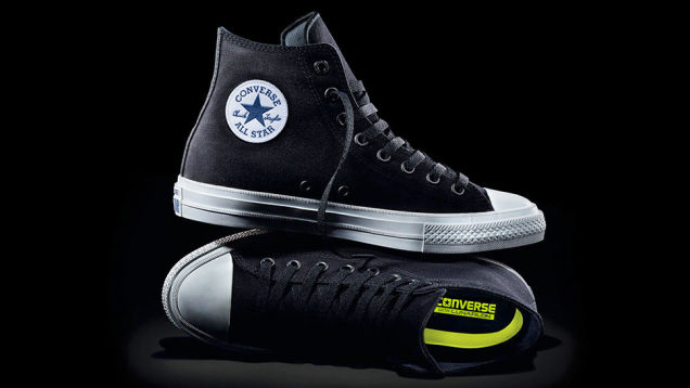 The New Chuck Taylor All Star II. Image Amplified www.imageamplified.com