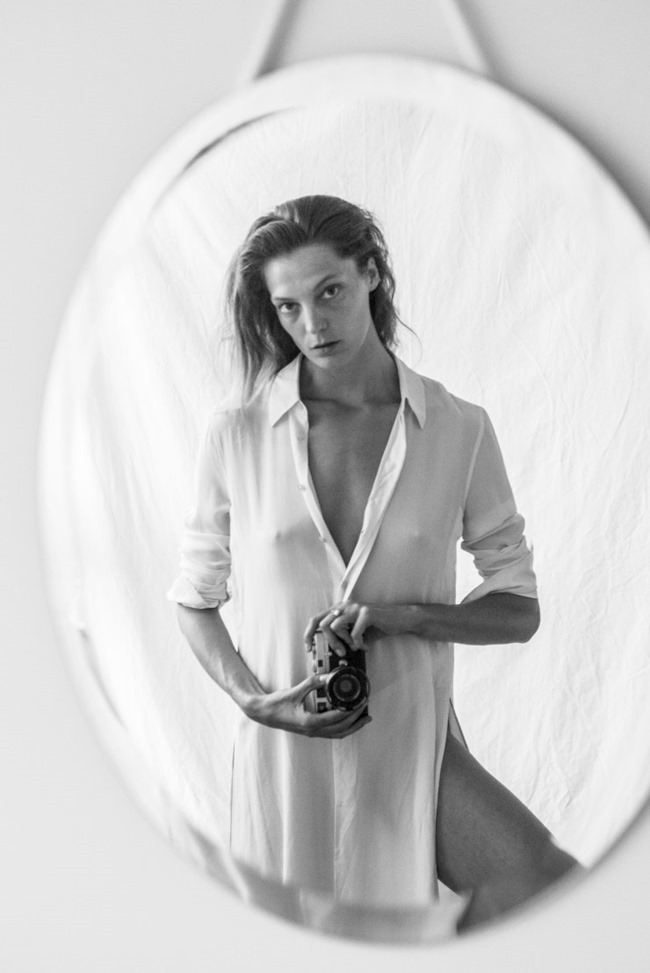 CAMPAIGN Daria Werbowy for Equipment Fall 2015 by Daria Werbowy. www.imageamplified.com, Image Amplified (1)