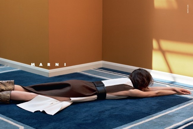 CAMPAIGN Marte Mei van Haaster for Marni Fall 2015 by Jackie Nickerson. Lucinda Chambers, www.imageamplified.com, Image Amplified (7)