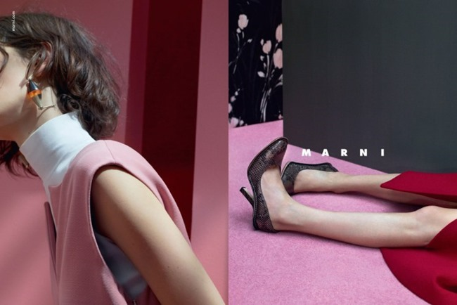 CAMPAIGN Marte Mei van Haaster for Marni Fall 2015 by Jackie Nickerson. Lucinda Chambers, www.imageamplified.com, Image Amplified (4)