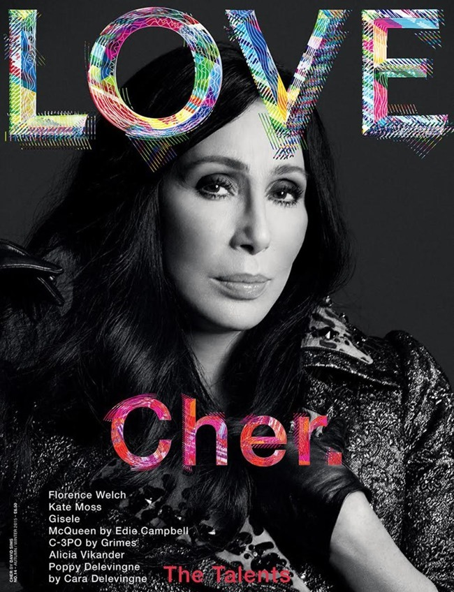 LOVE MAGAZINE Cher by David Sims, Fall 2015, www.imageamplified.com, Image Amplified (3)