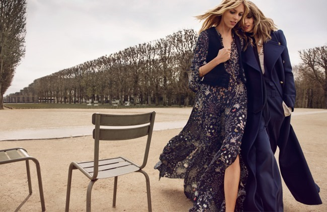 CAMPAIGN Anja Rubik & Julia Stegner for Chloe Fall 2015 by Inez & Vinoodh. www.imageamplified.com, Image Amplified (6)