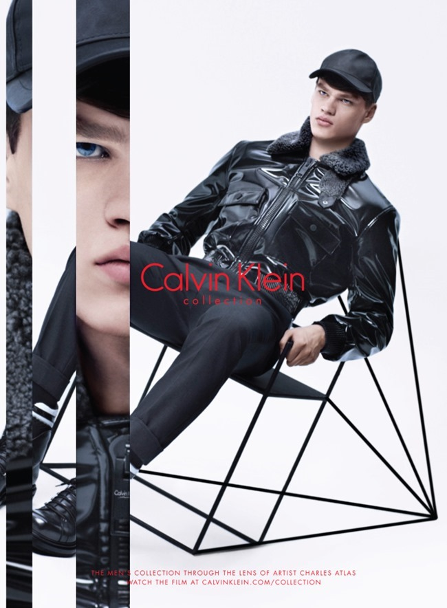 CAMPAIGN Filip Hrivnak & Grace Hartzel for Calvin Klein Collection Fall 2015 by Charles Atlas. Camilla Nickerson, www.imageamplified.com, Image Amplified (2)