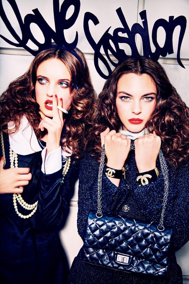 VOGUE JAPAN Fun Time in Montenapoleone  by Ellen von Unwerth. Alice Gentilucci, September 2015, www.imageamplified.com, Image Amplified (8)