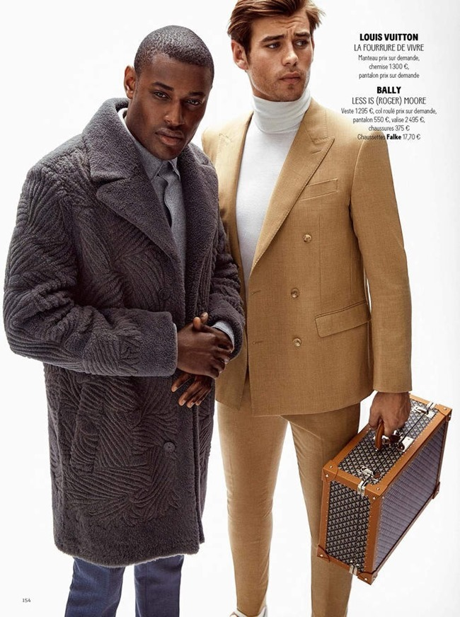 GQ FRANCE Matt Trethe & Roger Dupe by Jonas Bie. James Sleaford, September 2015, www.imageamplified.com, Image Amplified (2)