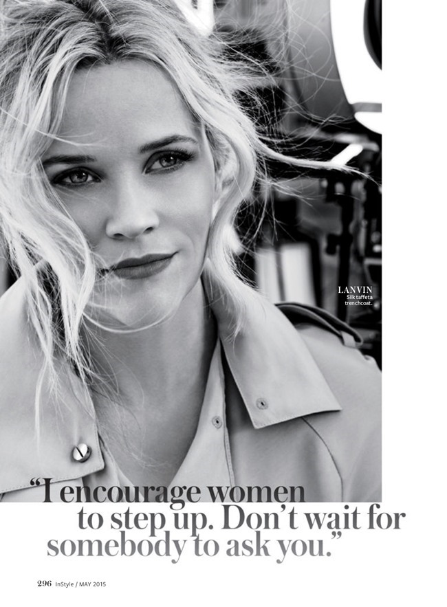 INSTYLE MAGAZINE Reese Witherspoon by Giampaolo Sgura. Miranda Almond, May 2015, www.imageamplified.com, Image Amplified