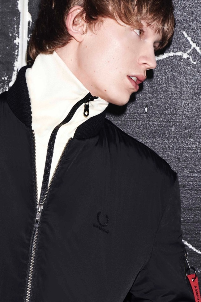 LOOKBOOK Fred Perry x Raf Simons Fall 2015. www.imageamplified.com, Image Amplified (1)