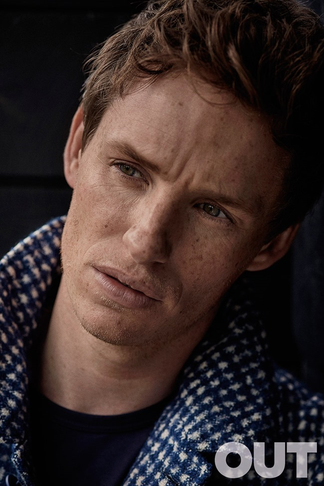 OUT MAGAZINE Eddie Redmayne by John Balsom. Grant Woolhead, September 2015, www.imageamplified.com, Image Amplified (2)
