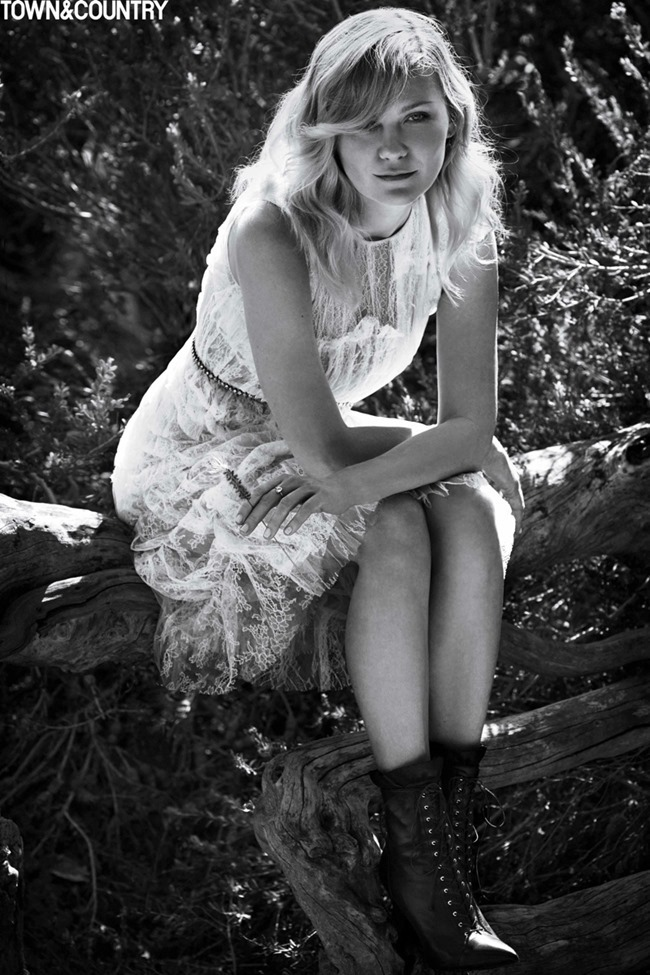 TOWN & COUNTRY Kristen Dunst by Cedric Buchet. September 2015, www.imageamplified.com, Image Amplified (4)
