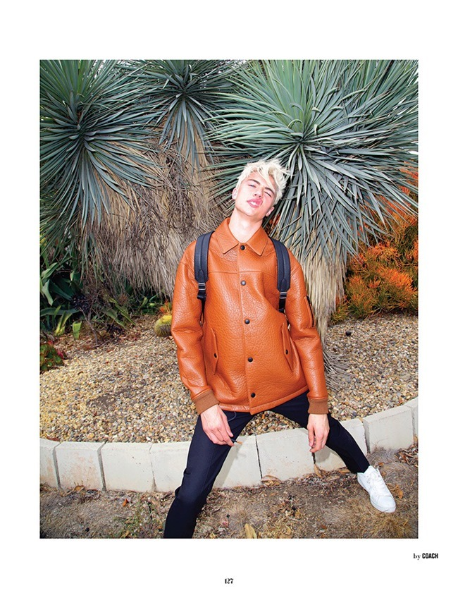 10 MEN MAGAZINE Lucky Blue Smith by Magnus Unnar. Garth Spencer, Fall 2015, www.imageamplified.com, Image Amplified (1)