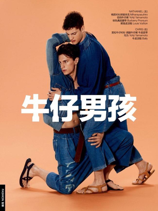GQ CHINA Denim Boys by Bela Borsodi. Haidee Findlay Levin, August 2015, www.imageamplified.com, Image Amplified (1)
