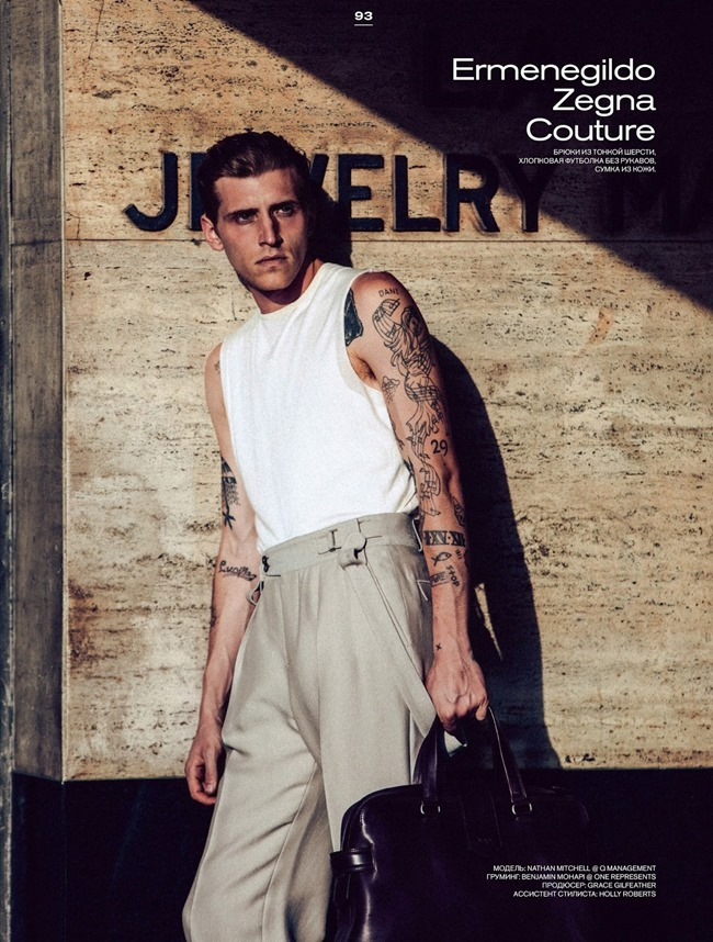 GQ STYLE RUSSIA Nathan Mitchell by NIcholas Maggio. Joe Levin, Summer 2015, www.imageamplified.com, Image Amplified (1)