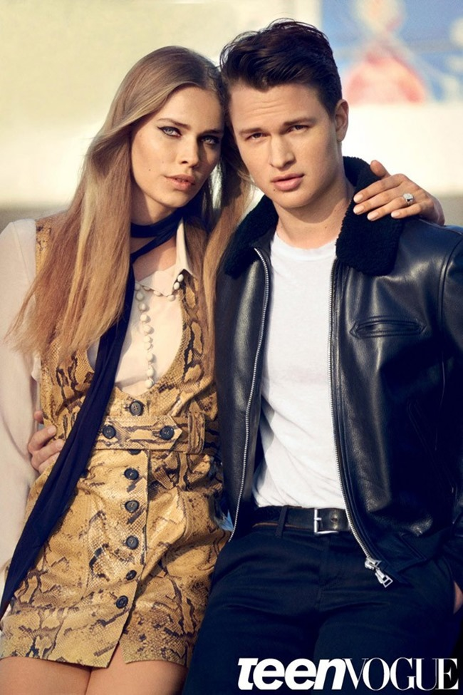 TEEN VOGUE Ansel Elgort by Boo George. Havana Laffitte, September 2015, www.imageamplified.com, Image Amplified (4)