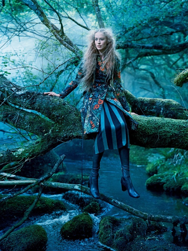 VOGUE MAGAZINE Raquel Zimmermann by Mikael Jansson. Tabitha Simmons, September 2015, www.imageamplified.com, Image amplified (7)